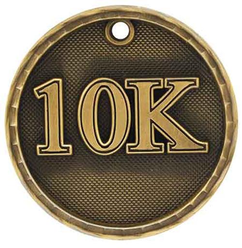 10K 3D Medal