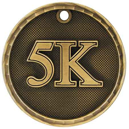 5K 3D Medal