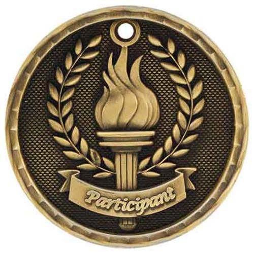 Participant 3D Medal