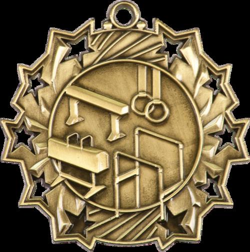 Gymnastics Ten Star Medal
