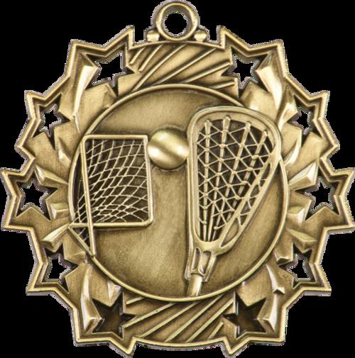 LaCrosse Ten Star Medal