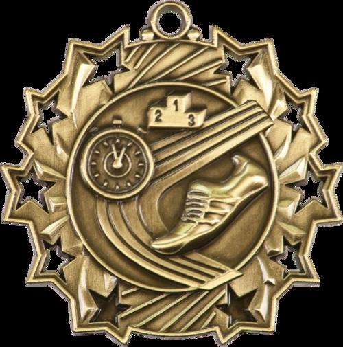 Track Ten Star Medal