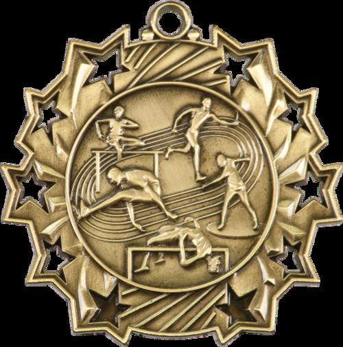 Track & Field Ten Star Medal