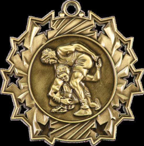 Wrestling Ten Star Medal