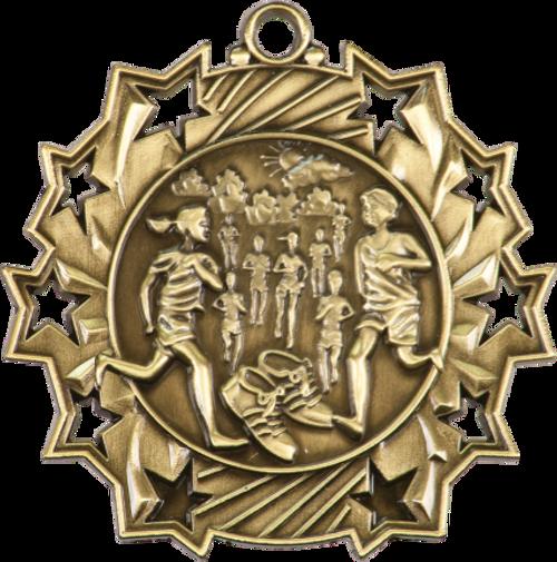 Cross Country Ten Star Medal