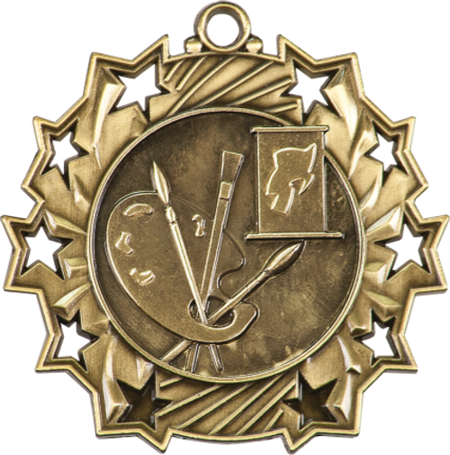 Art Ten Star Medal