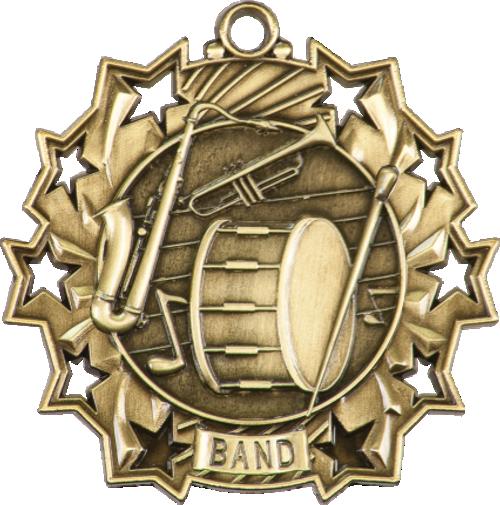 Band Ten Star Medal