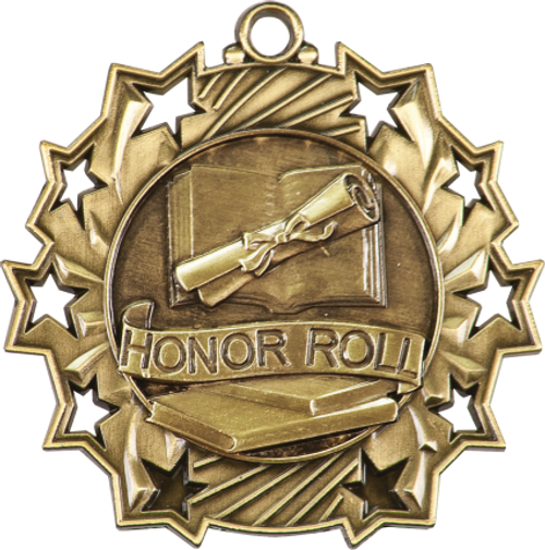 Honor Roll Ten Star Medal
