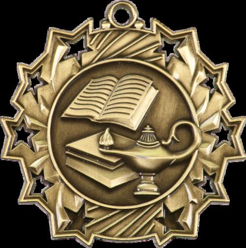Lamp of Knowledge Ten Star Medal