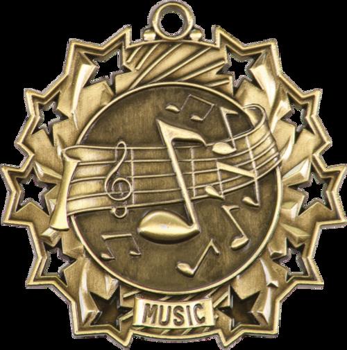 Music Ten Star Medal