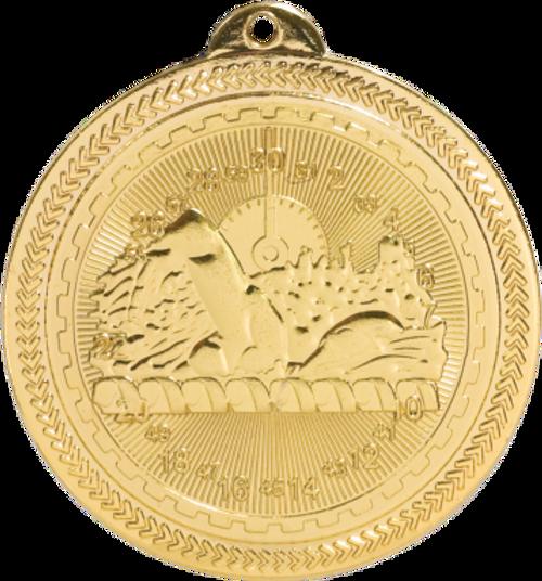 Swimming BriteLazer Medal