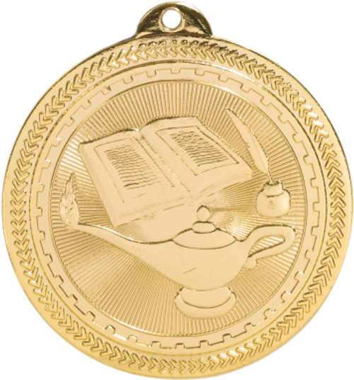 Lamp of Knowledge BriteLazer Medal