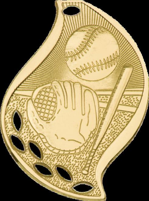 Baseball/Softball Flame Medal