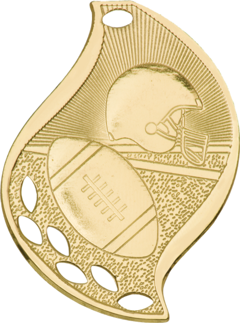 Football Flame Medal