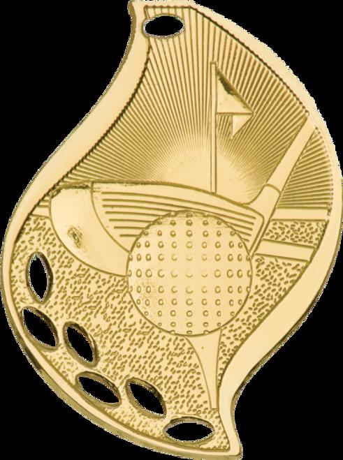 Golf Flame Medal
