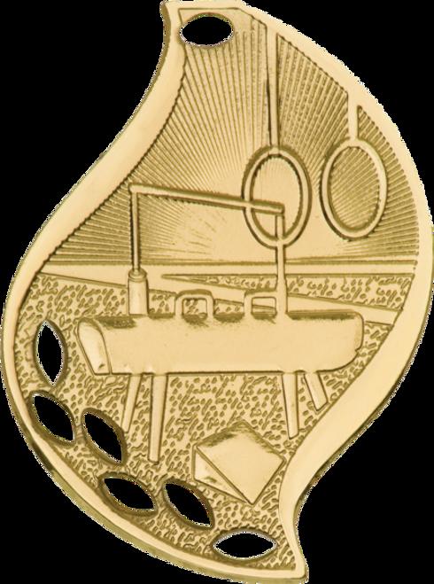 Gymnastics Flame Medal