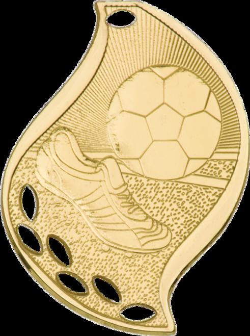 Soccer Flame Medal
