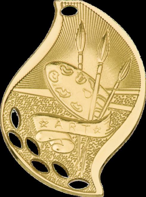 Art Flame Medal