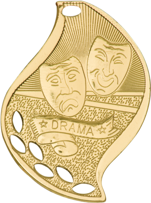 Drama Flame Medal