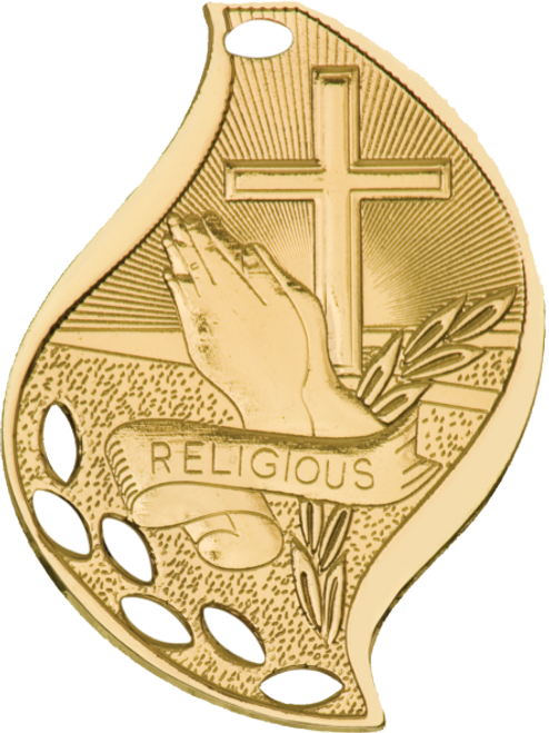 Religious Flame Medal