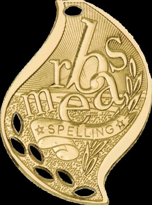 Spelling Flame Medal