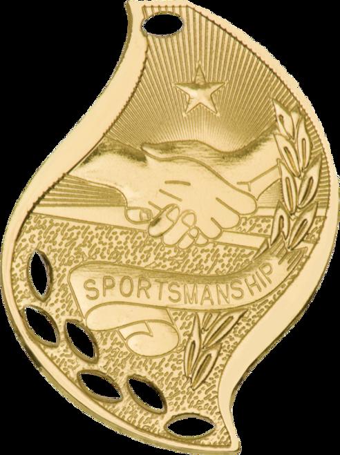 Sportsmanship Flame Medal