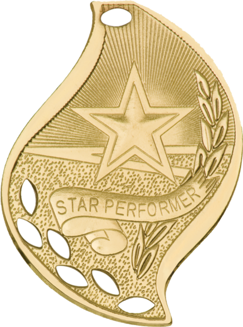 Star Performer Flame Medal