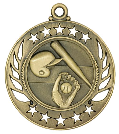 Baseball/Softball Galaxy Medal