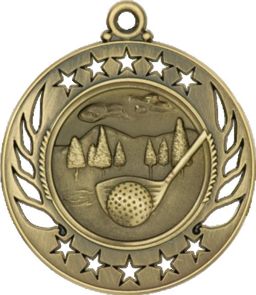 Golf Galaxy Medal