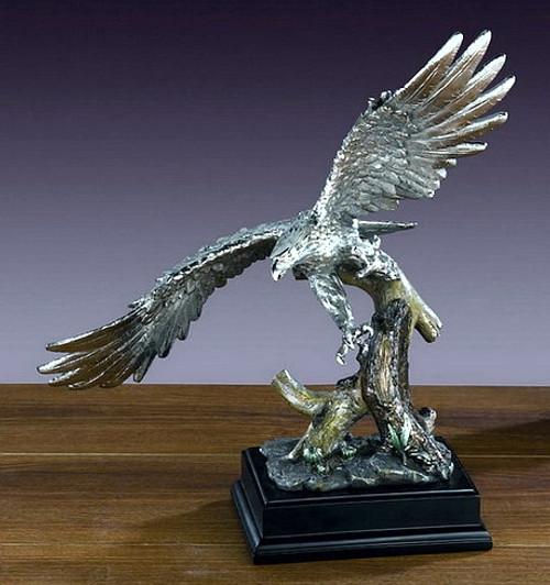 Large Pewter Eagle