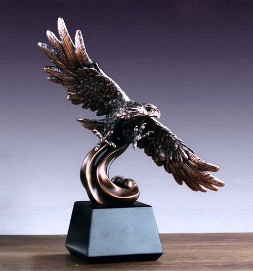 Eagle On Waves
