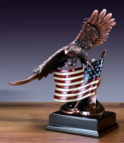 Eagle with American Flag (1)