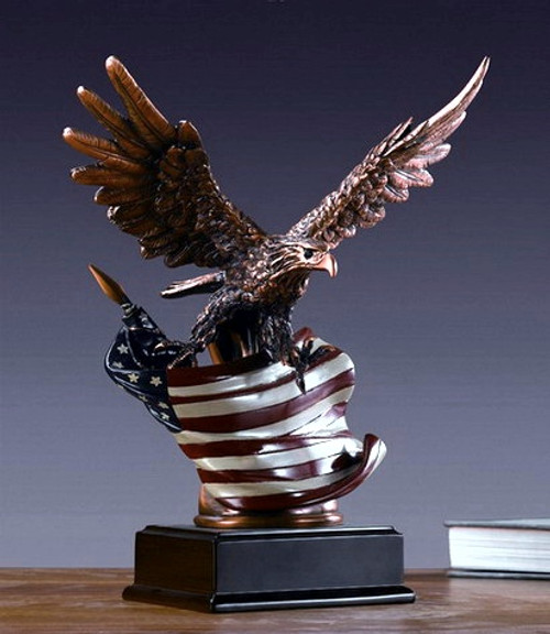 Eagle with American Flag (3)