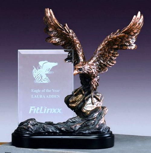 Eagle w/ Glass Imprint Award