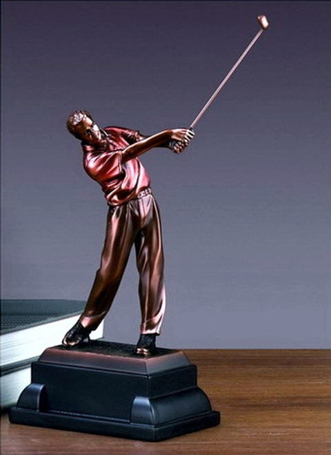 Golfer, Follow Through