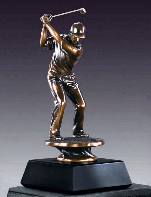 Golfer, Backswing