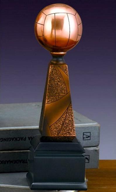 Volleyball on Pedestal