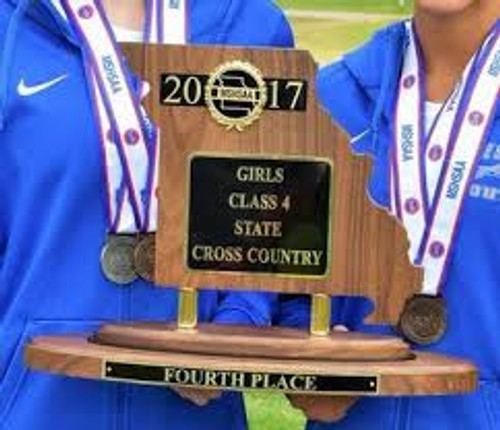 Official MSHSAA State Trophy - 4th Place