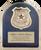 Police HERO Plaque with Chrome Badge