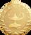 Lamp of Knowledge Starbrite Medal
