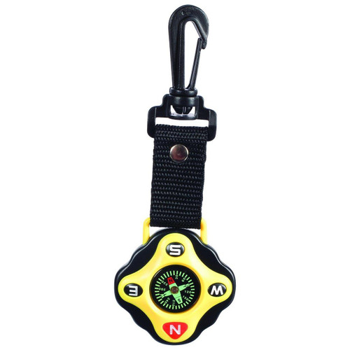 Clip-on compass for kids