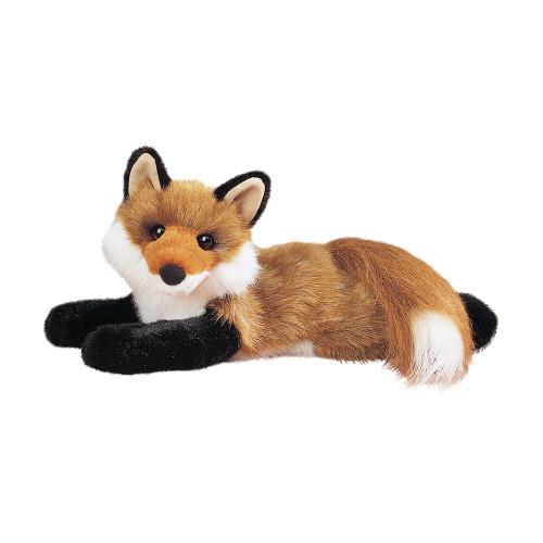 "Red Fox Plush, ""Roxy"""