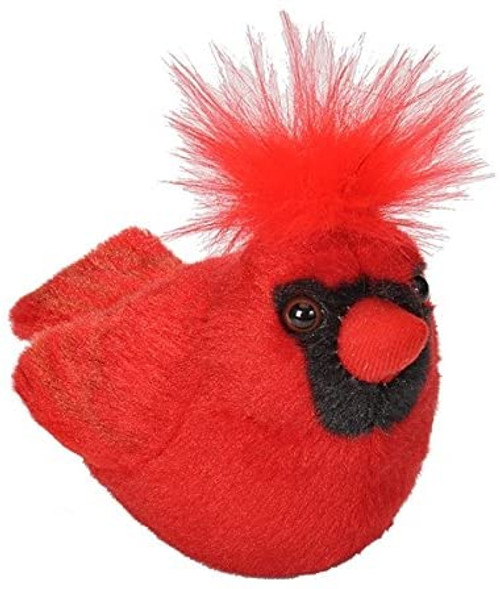 Cardinal Plush with Sound