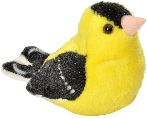 Goldfinch Plush with Sound