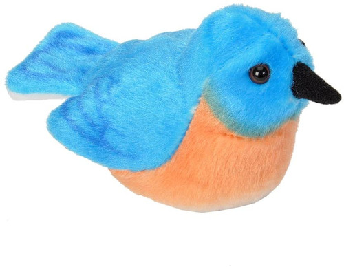 Eastern Bluebird Plush with Sound