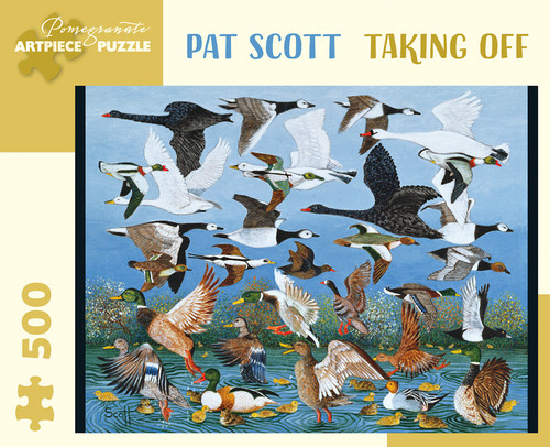 Taking Off 500-piece Jigsaw Puzzle by Pat Scott