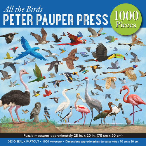 """All the Birds"" 1,000-piece Jigsaw Puzzle"