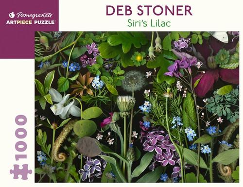 "Deb Stoner's ""Siri's Lilac"" 1,000-piece Jigsaw Puzzle"