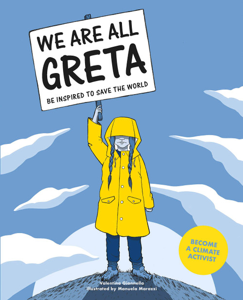 """We Are All Greta"" children's book cover"