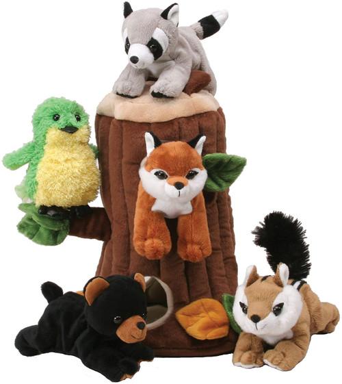 Tree plush with animals